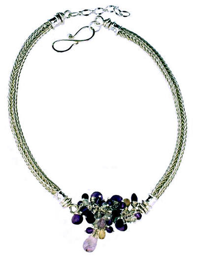#2433 ~ Amethyst & Ametrine Necklace